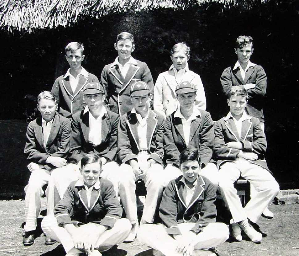 The Prince of Wales School Cricket Team 1933