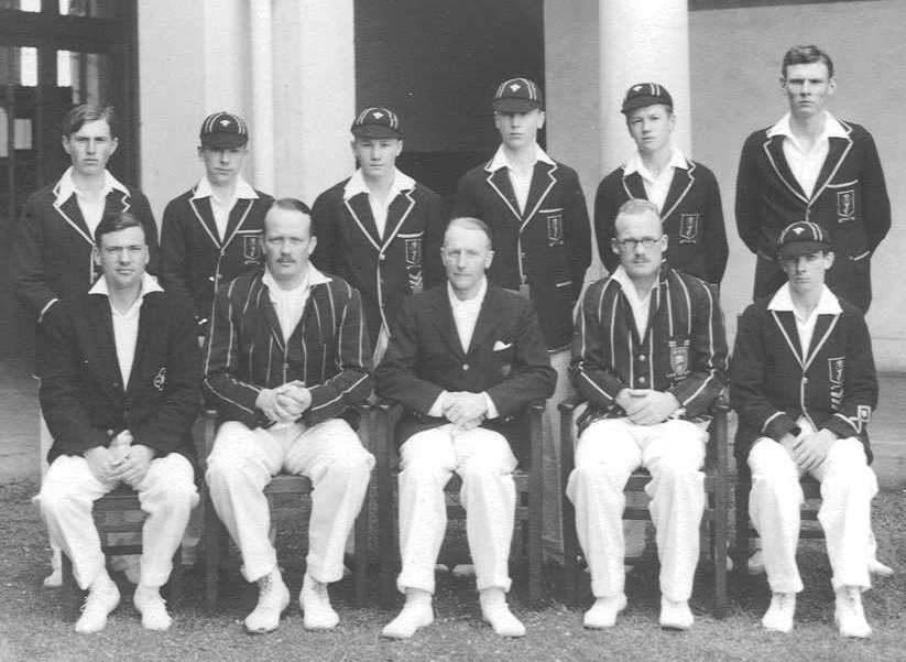 Prince of Wales School Cricket Team 1936