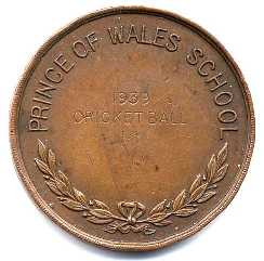Cricket Ball Medal 1939