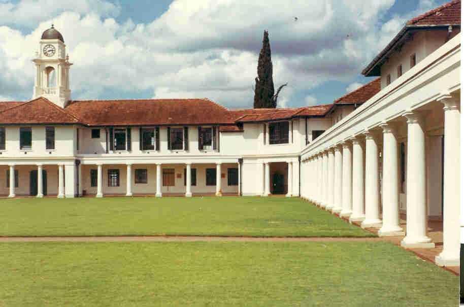 Quad and Main Building, 1968 (Bill McCormick)