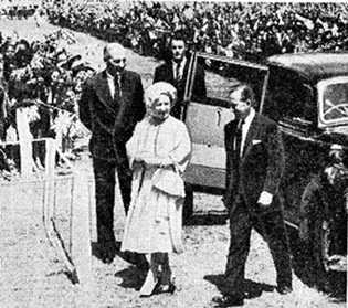 Visit of Queen Mother to Kenya - 1959