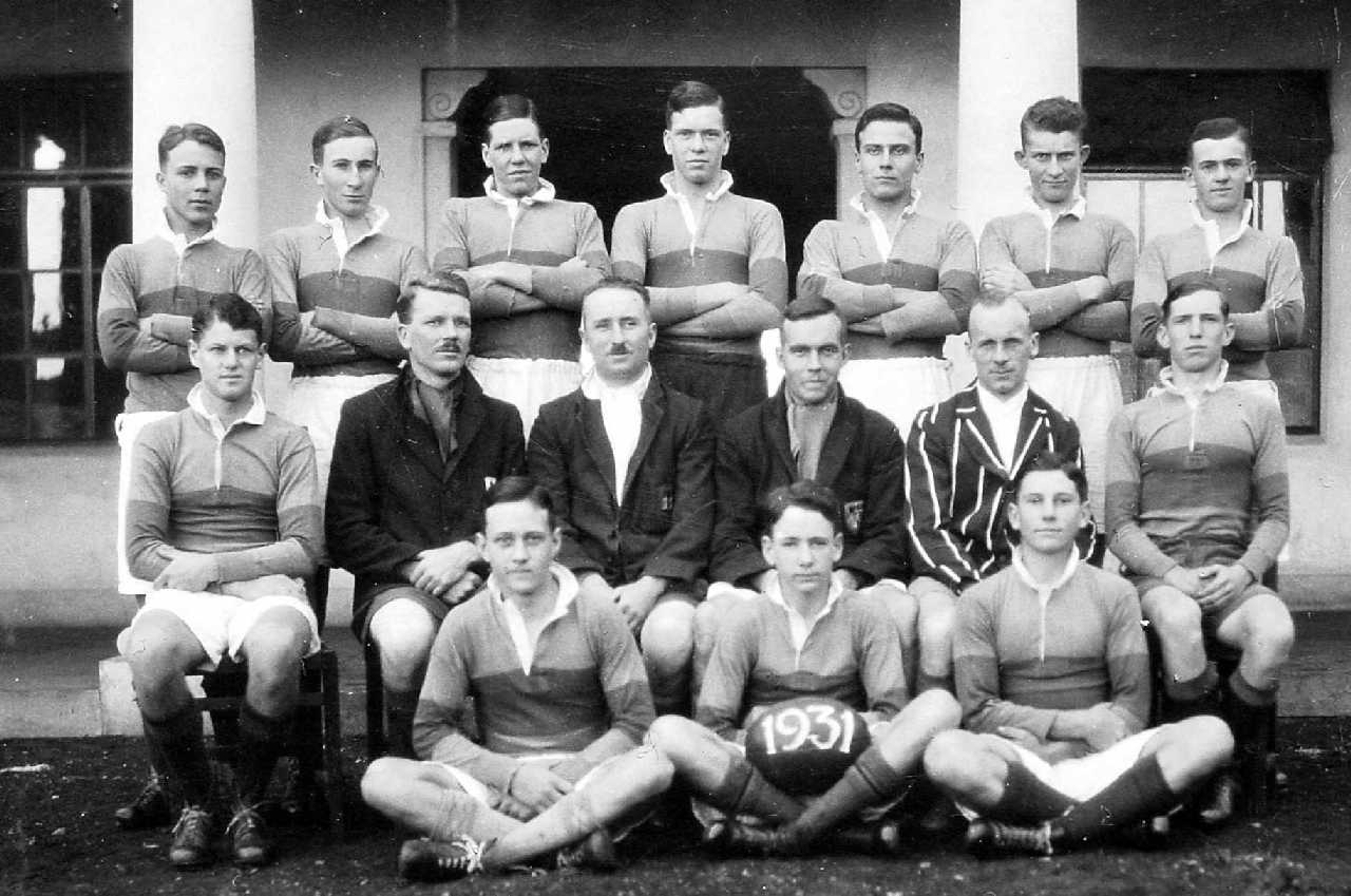 The Prince of Wales School Rugby Team 1931