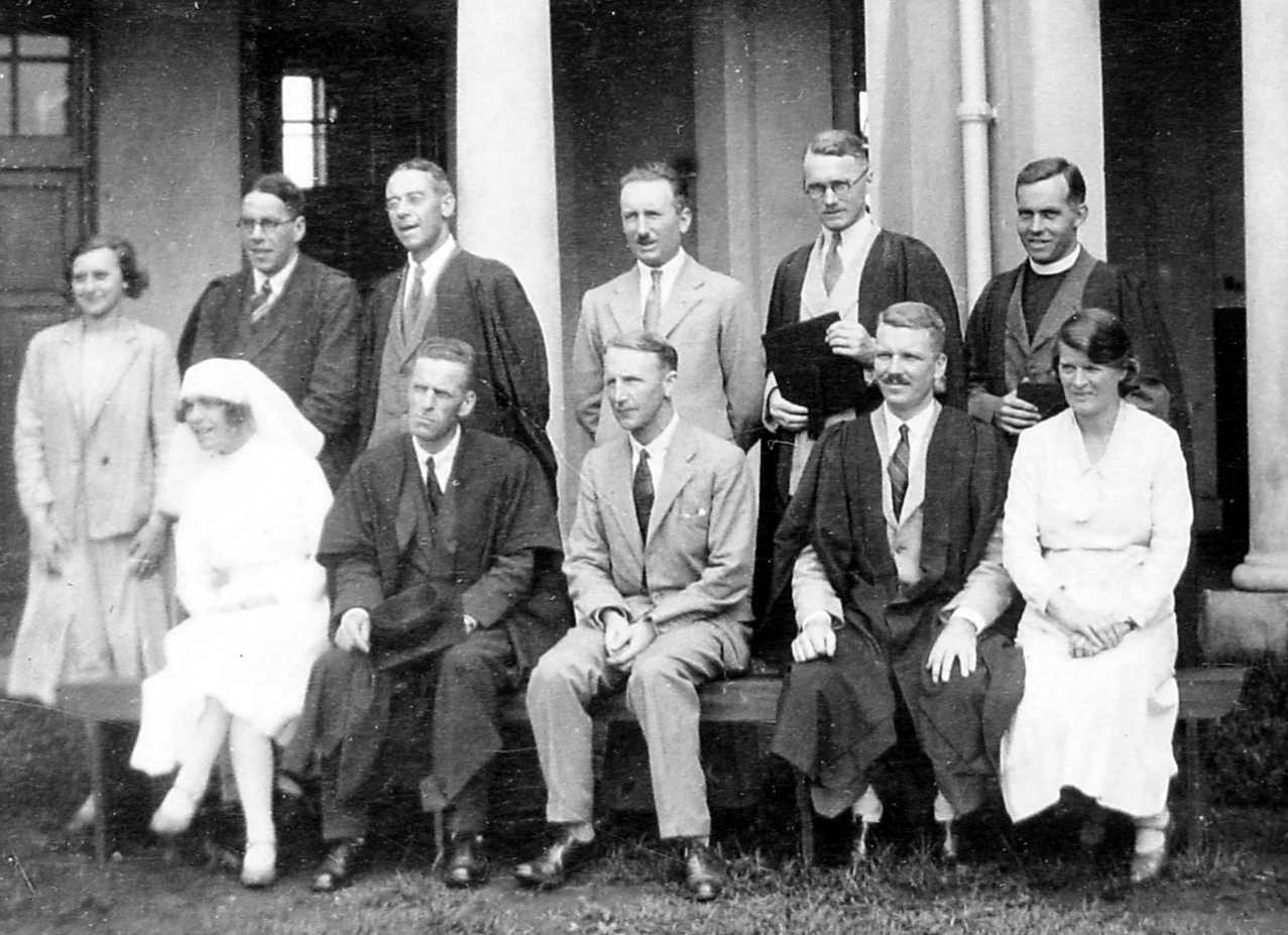 The Original Staff in May 1931