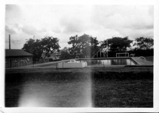 Prince Of Wales School Swimming Pool 1952