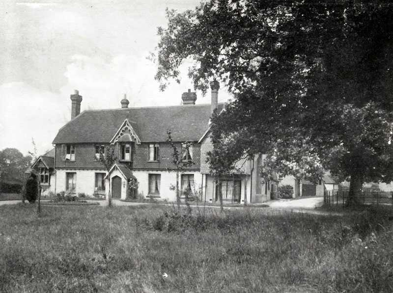 """Tiphams"" – The Nicholsons' retirement home at Ockley"